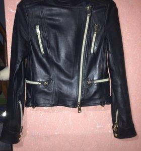 Куртка кожаная. Косуха. Vera Pelle.