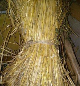Плетение плетенка солома