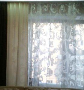 Пошив штор и ламбрекенов на заказ