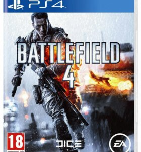 Продаю игру Battlefield 4 на консоль PS4!
