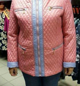 Куртка новая весенняя
