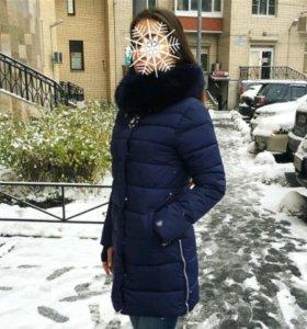 Пуховик зимний новый