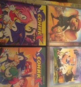 Фильмы, мультики и игры DVD