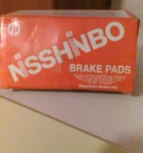 Тормозные колодки NISSHINBO на хонда фит