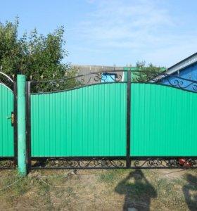 Ворота кованые в-2