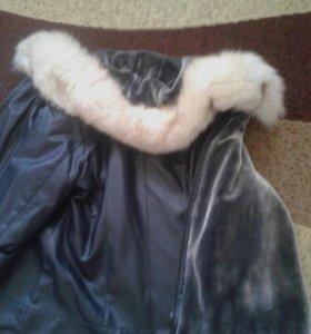 Новая меховая куртка