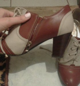 Осенне - весенние туфли