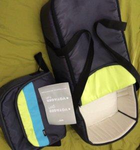Коляска-трансформер с переноской,сумкой