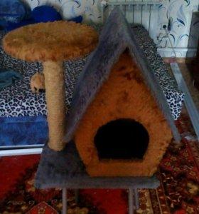 Домик для котиков