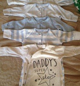 Пижамы для новорождённых