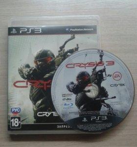 Crysis 3 и FIFA Street (PS3)