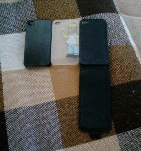 3 чехла на айфон 4s