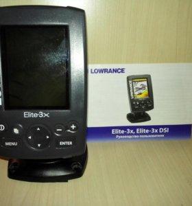 Эхолот Lowrance ELITE 3x