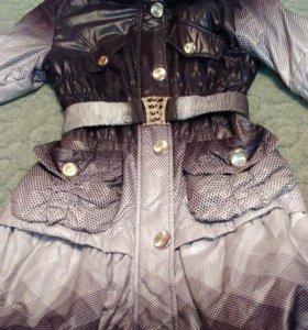 Плащ-пальто для девочки