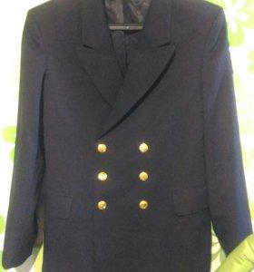 Педжак черный и синий