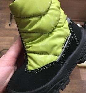 Ботинки Alaska на шерстяной подкладке