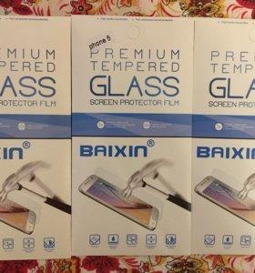 Защитные бронь-стекла для iPhone