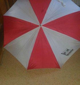 Зонт, трость, автомат