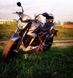 Мотоцикл Sym wolf пробег 9500 км