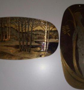 Гравюра на метале златоуст позолоченная