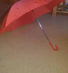 Зонт, трость, автомат.
