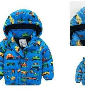Новая демиснзонная куртка р98