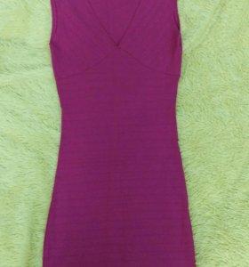 Платье новое цвет ярко розовый