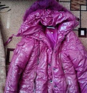 Куртка пуховик д/с до -10