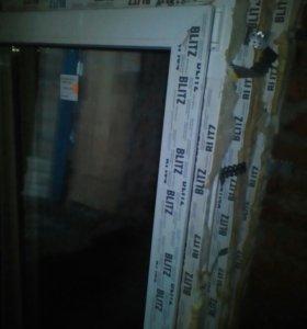 Пластиковые окна три штуки