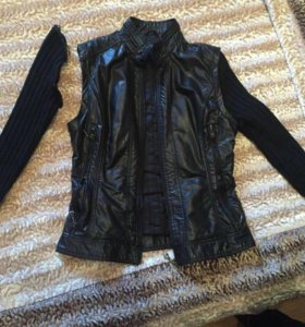 Кожаная куртка 2в1