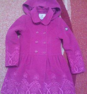 Пальто демисезонное детское