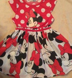 Новое платье на 3-4 года