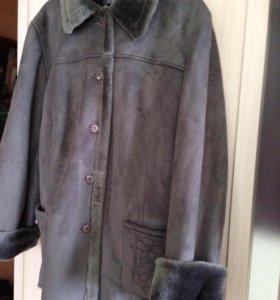 Новое пальто р50-52