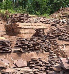 Натуральный плоский камень плитняк