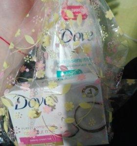 Гель для душа и мыло Dove
