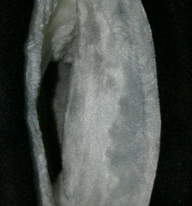 Замшевые зимние сапоги