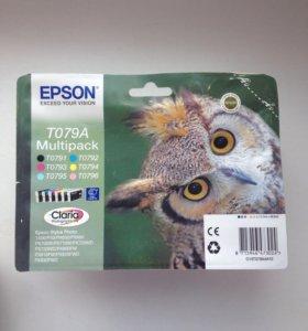 Картриджи Epson T079A Multipack