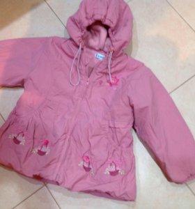 Курточка на девочку рост 104
