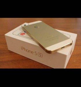 iPhone apple 5s gold  16Gb original LTE
