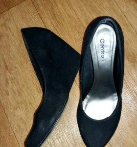 Туфли замш 38 размер