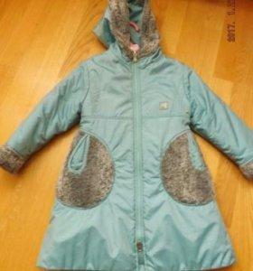 Пальто демисезонное для девочки (4-5 лет)