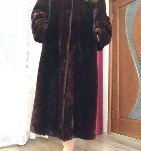 Шуба Мутон