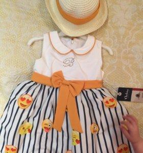 Новое платье и шляпка