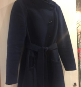 Пальто, темно синего цвета, 46-48