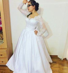 Новое свадебное платье !!!!!