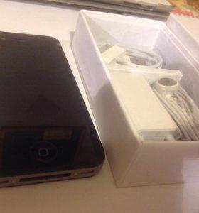 4s 16 gb iPhone черный