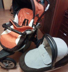 Продам коляску pegperego gt3.+подарок(пелен.матрас