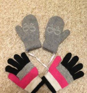 За все перчатки варежки