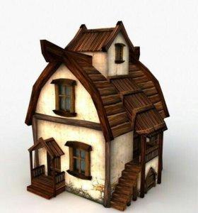 Декоративные домики!
