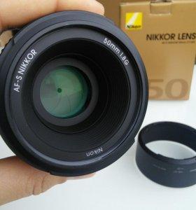 Nikon nikkor 50mm af-s 1.8g